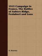 1915 Campaign in France, The Battles of Aubers Ridge, Festubert and Loos