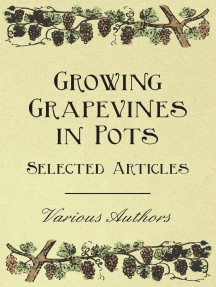 Growing Grapevines in Pots - Selected Articles