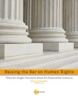 Project Study on Corporate Responsibility to Respect - Business and Human Rights