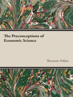 The Preconceptions of Economic Science