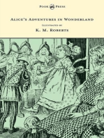 Alice's Adventures in Wonderland - Illustrated by K. M. Roberts
