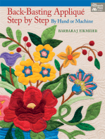 Back-Basting Applique, Step by Step