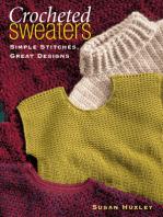 Crocheted Sweaters