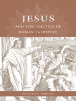 Jesus and the Politics of Roman Palestine