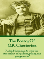 GK Chesterton, The Poetry Of