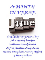 June, A Month in Verse