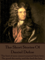 The Short Stories Of Daniel Defoe