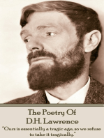 DH Lawrence, The Poetry Of
