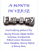 February, A Month In Verse