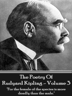 The Poetry Of Rudyard Kipling Vol.3