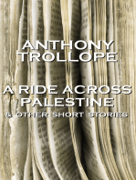A Ride Across Palestine & Other Short Stories