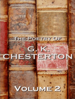 The Poetry Of GK Chesterton Volume 2