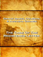 Grace Isabel Colbron & Augusta Groner - The Case Of The Reigstered Letter