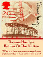 Return Of The Native, By Thomas Hardy