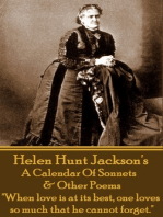 A Calendar Of Sonnets & Other Poems
