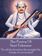 The Poetry Of Sant Tukaram