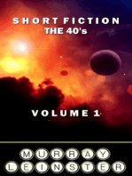 Short Fiction - The 30's