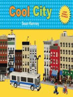 Cool City: Lego™ Models to Build - Stickers Included