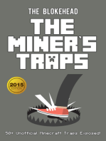 The Miner's Traps: 50+ Unofficial Minecraft Traps Exposed!