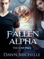Fallen Alpha (The Lost Pack, #1)