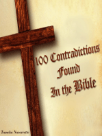 100 Contradictions found in the Bible
