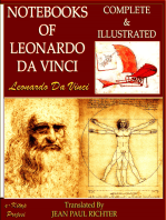 Notebooks of Leonardo Da Vinci