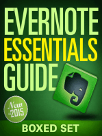 Evernote Essentials Guide (Boxed Set)