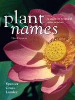 Plant Names: A Guide to Botanical Nomenclature