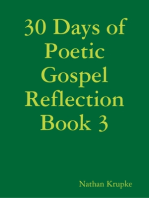 30 Days of Poetic Gospel Reflection Book 3