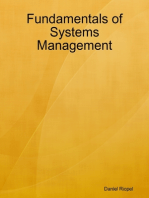 Fundamentals of Systems Management