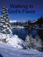 Walking in God's Favor