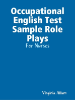 Occupational English Test Sample Role Plays - For Nurses