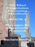 Dr. Mac! Dissertation Mentoring Handbook
