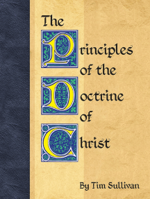 The Principles of the Doctrine of Christ