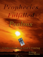 Prophecies Fulfilled Psalms