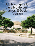 A Bibliography for the Libro de buen amor, E-Book Version