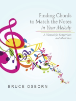 Finding Chords to Match the Notes In Your Melody