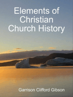 Elements of Christian Church History