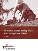 Residential Asphalt Roofing Manual Design and Application Methods 2014 Edition