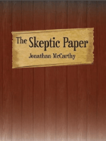 The Skeptic Paper