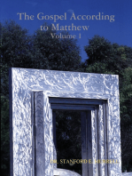 The Gospel According to Matthew Volume 1