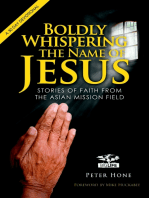 Boldly Whispering the Name of Jesus