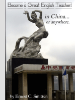 Become a Great English Teacher! In China... or Anywhere.