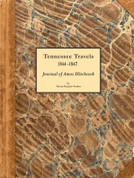 Tennessee Travels 1844-1847