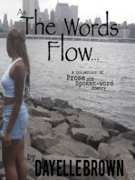 As the Words Flow... - A Collection of Prose and Spoken-word Poetry Ebook
