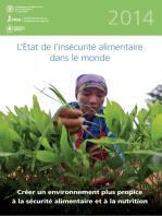 L'état de l'insécurité alimentaire dans le monde 2014: Creer un environnement plus propice a la securite alimentaire et a la nutrition