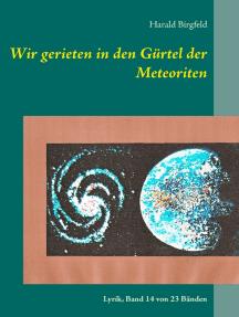Wir gerieten in den Gürtel der Meteoriten: Lyrik, Band 14 von 23 Bänden