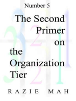 The Second Primer on the Organization Tier