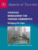 Strategic Management for Tourism Communities