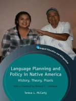 Language Planning and Policy in Native America
